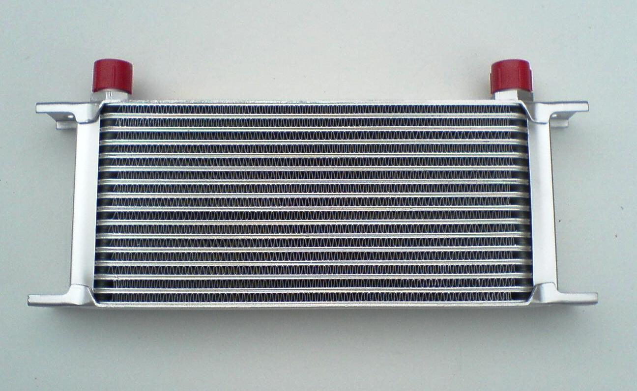 Sbc Oil Cooler : Ls chevy v engine oil cooler kit billet take off